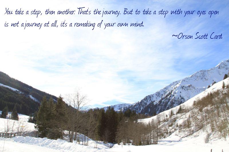 Weekend Travel Inspiration - Orson Scott Card