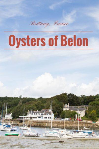 If you are in the north of France, don't miss out on the chance to eat the amazing oysters of Belon.