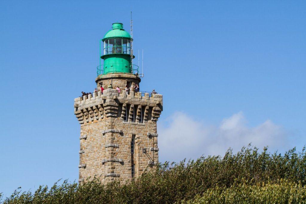 The stone lighthouse of Cap Frehel.
