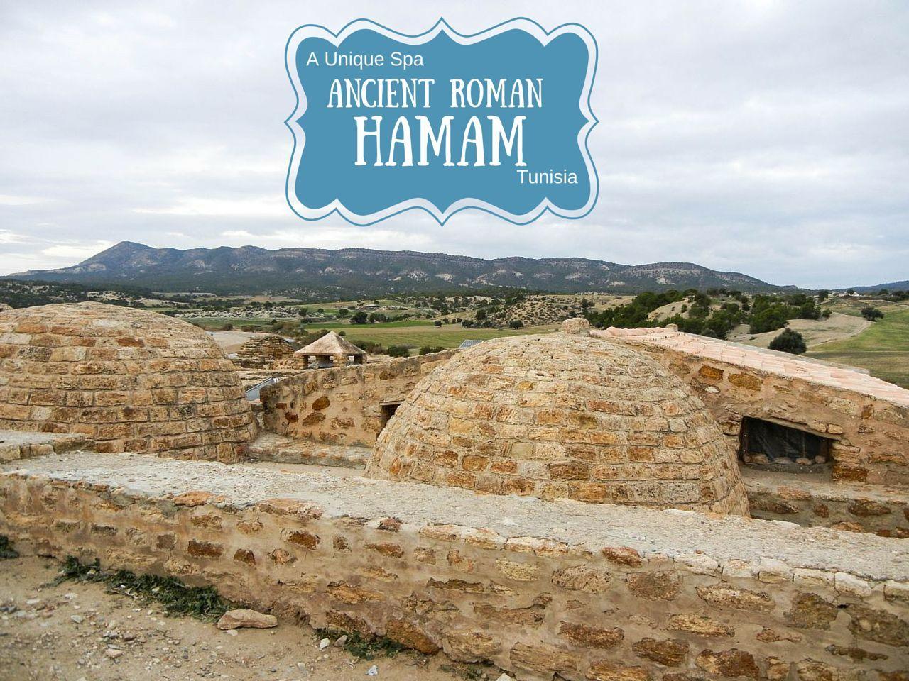 Ancient Roman Spa in Tunisia