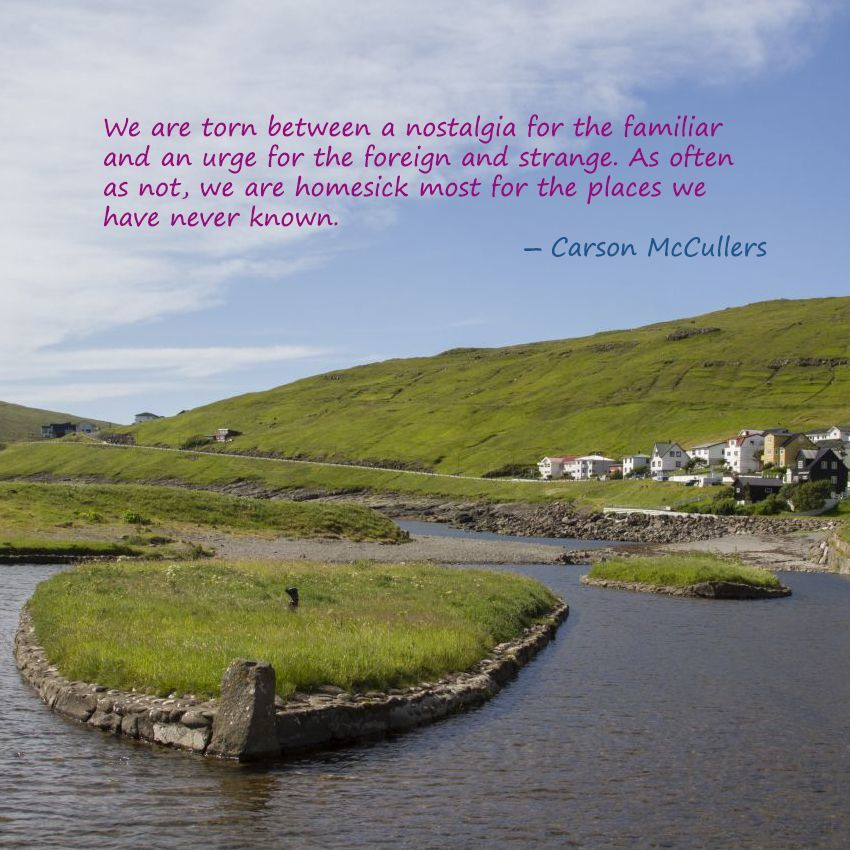 Weekend Travel Inspiration - Carson McCullers