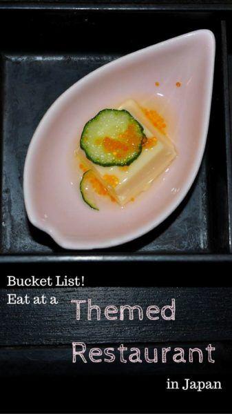 Themed Restaurants in Japan.