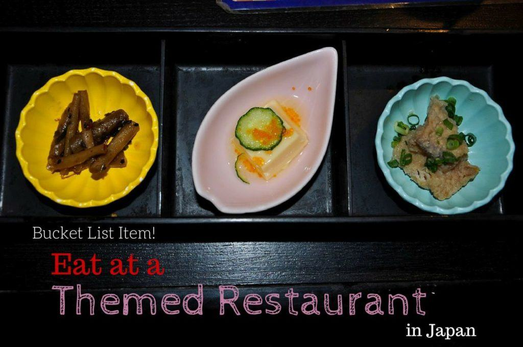 Themed Restaurants in Japan.
