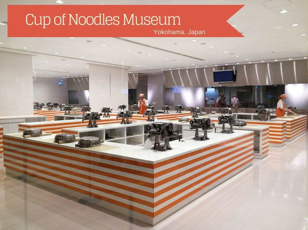 Making Your Own Cup of Noodles Japan