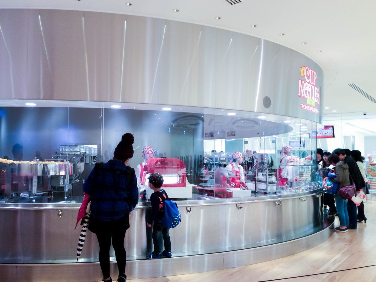 Making Your Own Cup Noodles Museum package of flavorful Japanese instant noodles