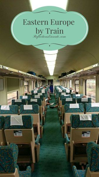 Train travel in Eastern Europe really brings back the feeling of an epic journey.