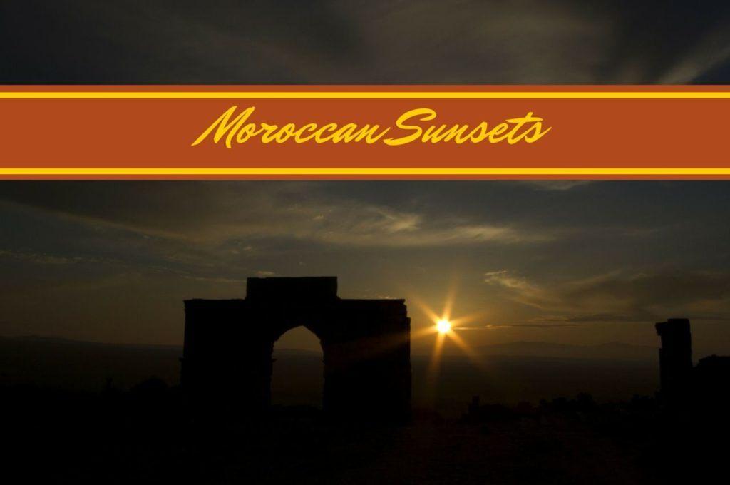 Sunset Morocco.