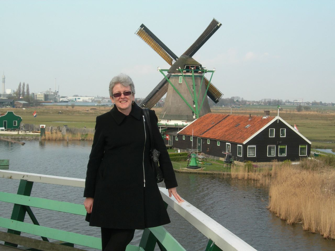 Anabel in the Netherlands.