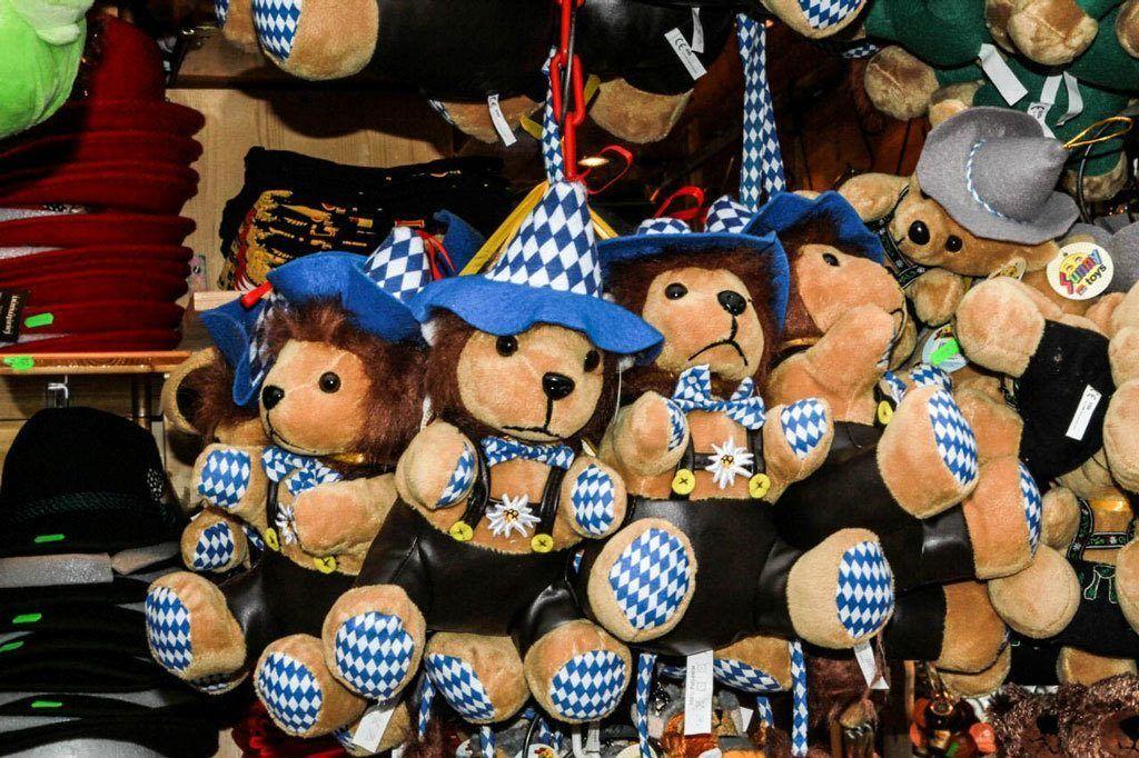 Bavarian bears for a one of a kind souvenir!