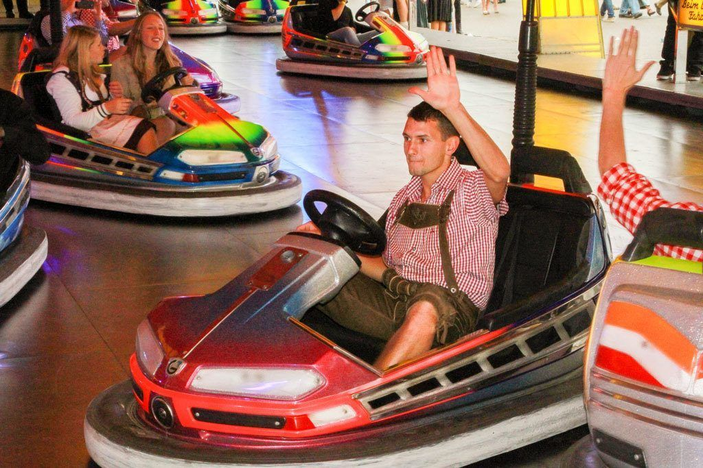 Bumper cars - Germany style.