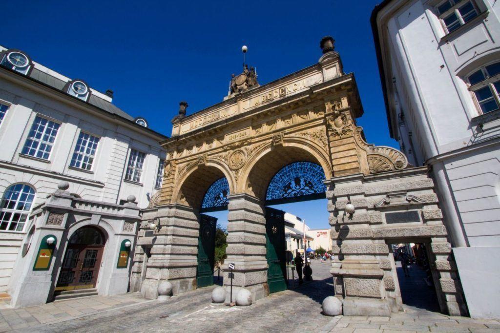 Pilsen Brewery, Pilsner Urquell, Main Gate.