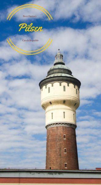 Pilsen Beer Factory Tower.
