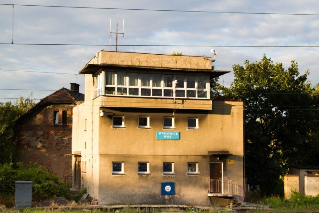A train station in Poland.