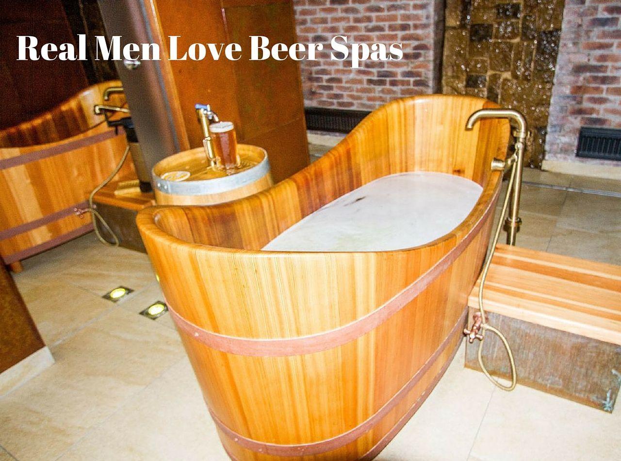 Real Men Love Beer Spas