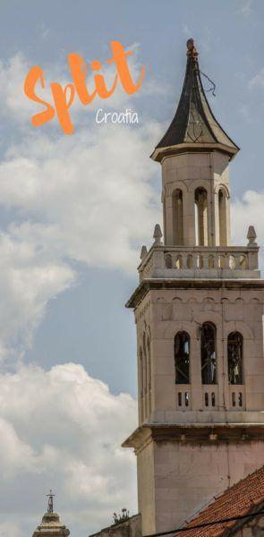 Split, Croatia bell tower.
