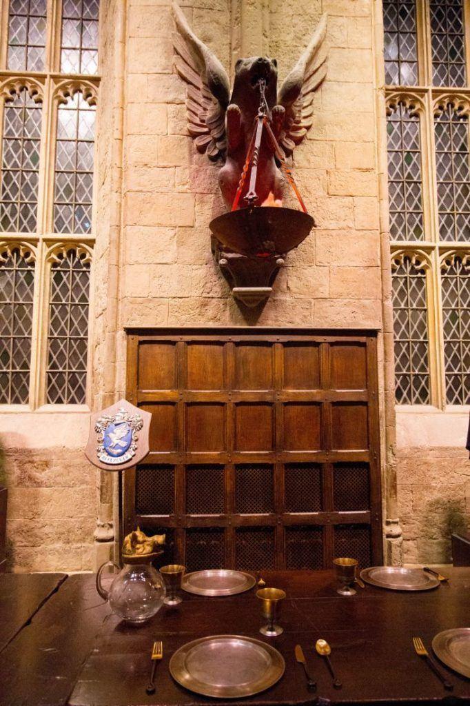 The Great Hall at Hogwarts.