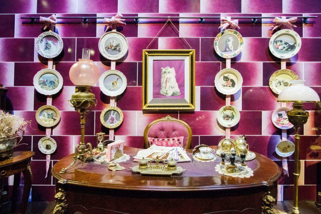 Delores Umbridge's office.