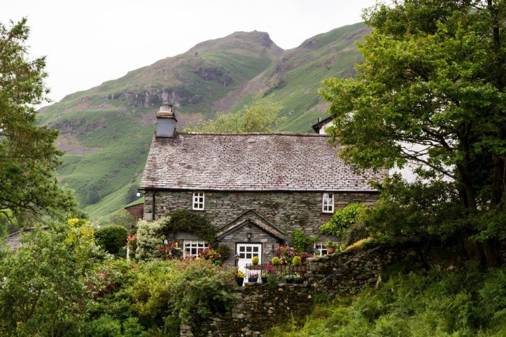 Impossibly gorgeous stone farmhouse in the Lake District.
