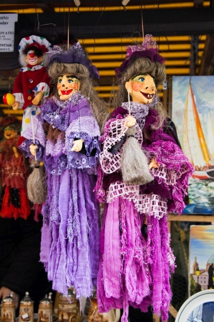Not sure what to do in Prague? Why not go shopping for puppets?