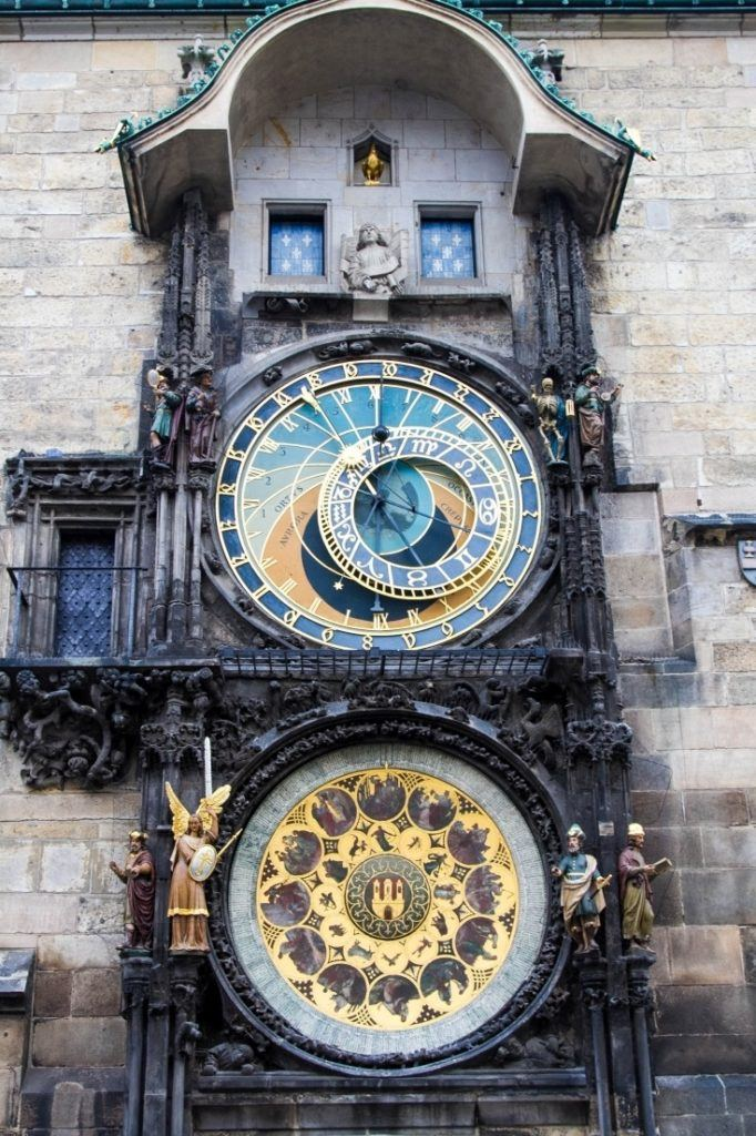 Attractions include the often photographed Astronomical Clock.