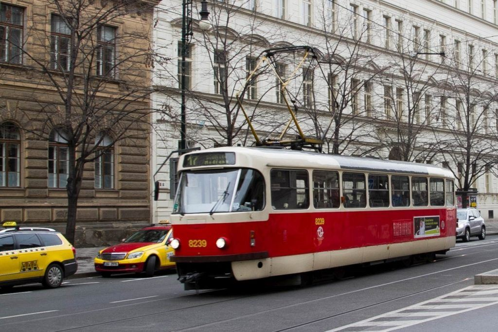 Now sure what to do in Prague? Getting around to places on a Prague tram is easy!