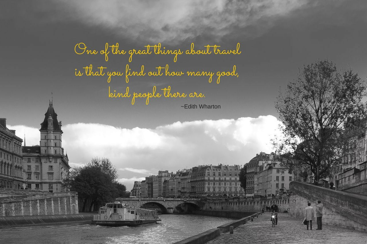 Weekend Travel Inspiration - Edith Wharton