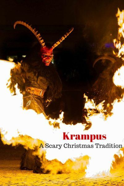 Krampus A Scary Christmas Tradition - Learn how and when to see a Krampus show in Bavaria during the Christmas season.