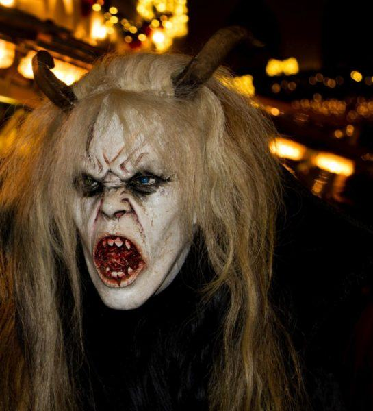 Krampus is as scary as they come.