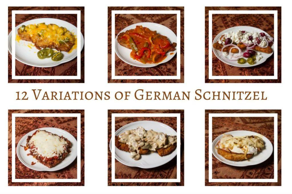 12 Variations of Schnitzel or Mmmm... Pork for Every Month Recipes.