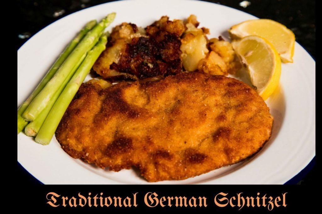 Traditional German Schnitzel Recipe.