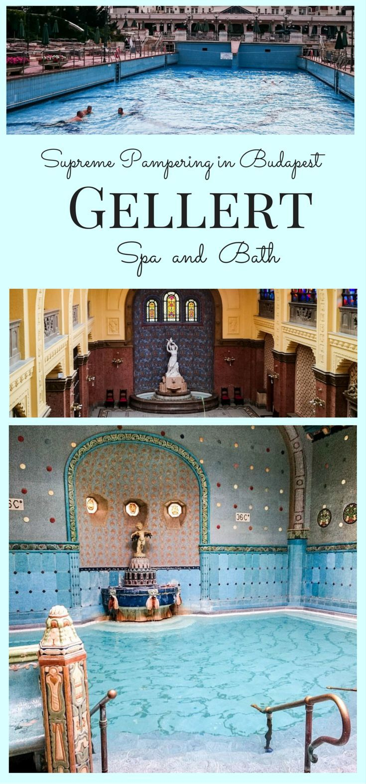 Supreme Pampering in Budapest Gellert Spa and BathSupreme Pampering in Budapest Gellert Spa and Bath