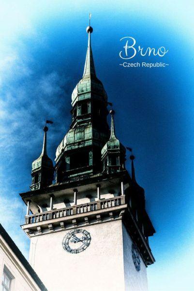 Brno clock towwer.