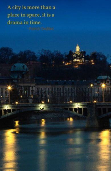 Prague at Night.