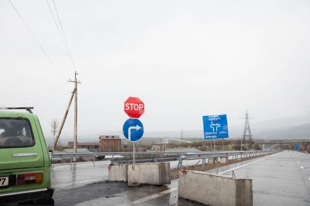 Driving in Armenia can get a bit confusing due to their signs.