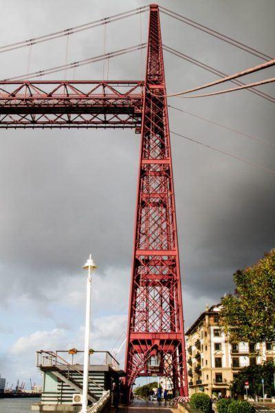 A moody photo of the bridge.