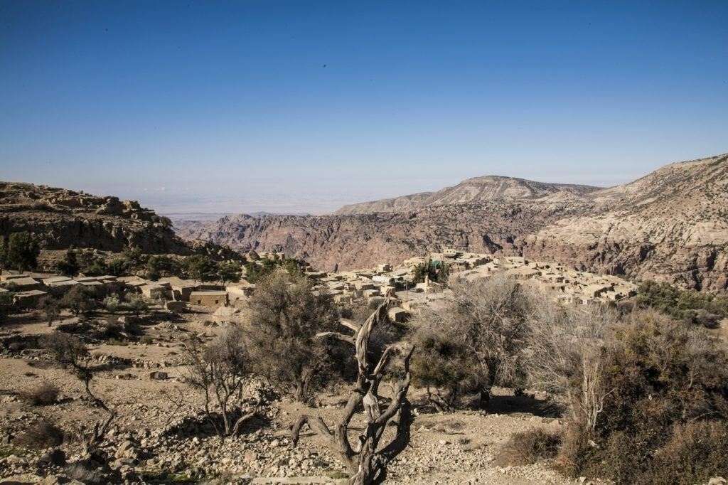 Cities tuck in wadis all over the country.