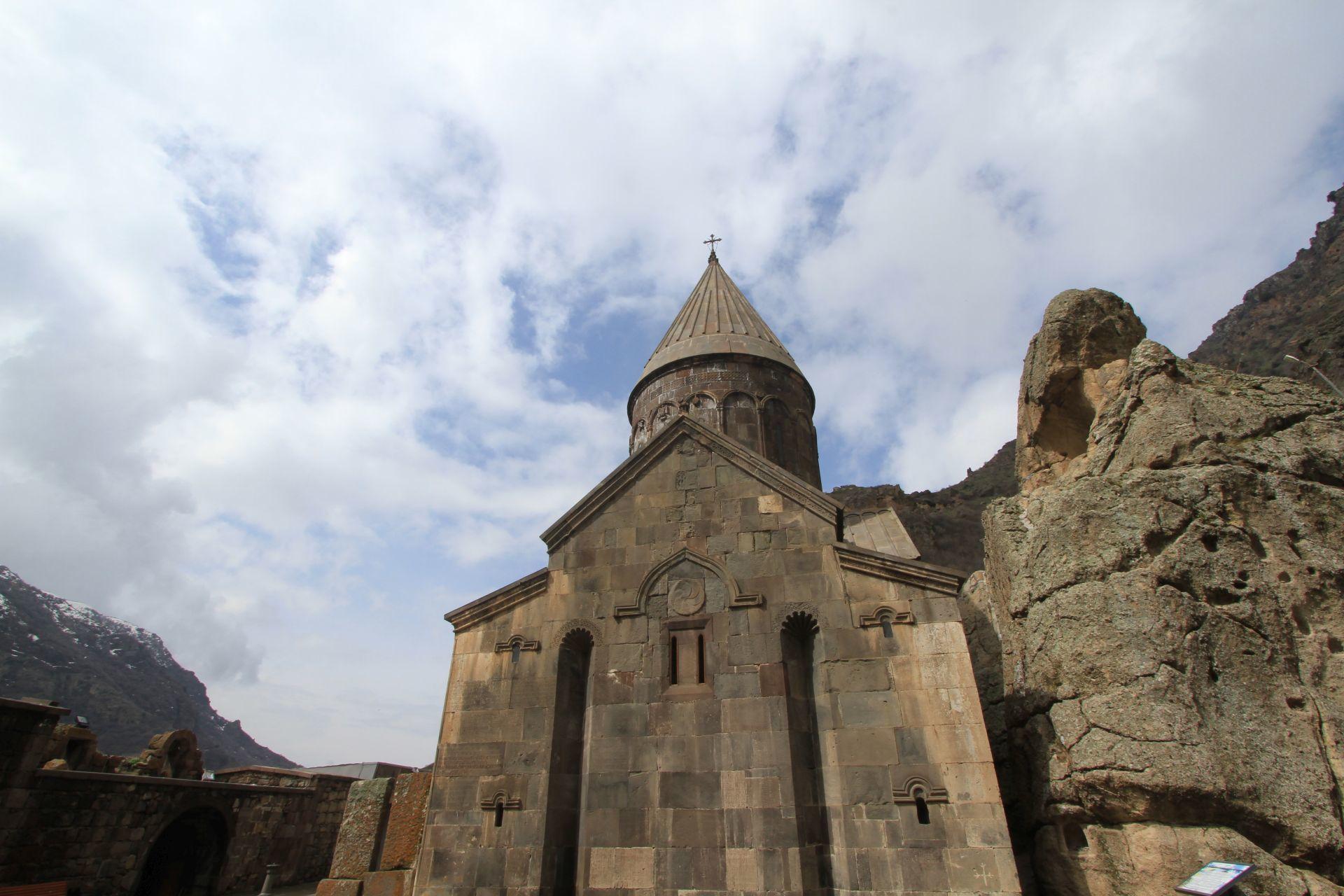 Armenia Road Trip Part 2 - Geghard and Garni, A Monastery and a Temple