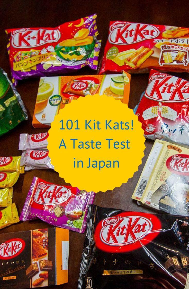 101 Japanese Kit Kat Candy Bars - A Taste Challenge *Video*