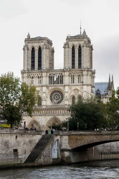Notre Dame before the fire.