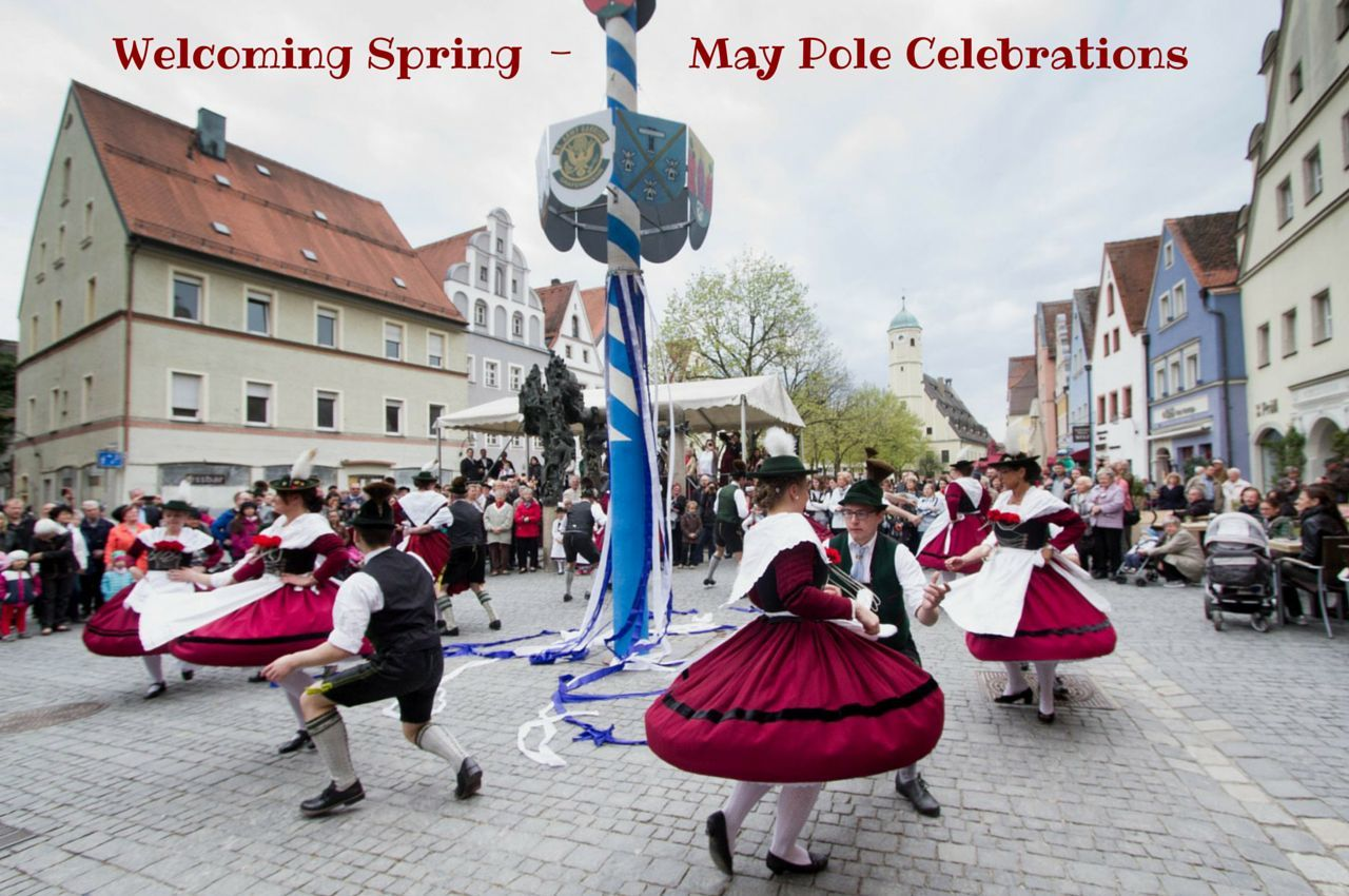 Welcoming Spring with Germany May Pole Celebrations