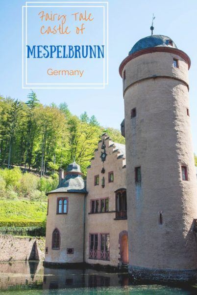 Mespelbrunn Castle, a great day trip from Frankfurt or Wurzburg. The whole family will love it.