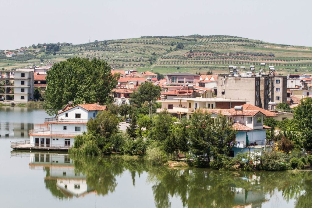 A quaint countryside village that we saw during our Albania Road Trip itinerary.
