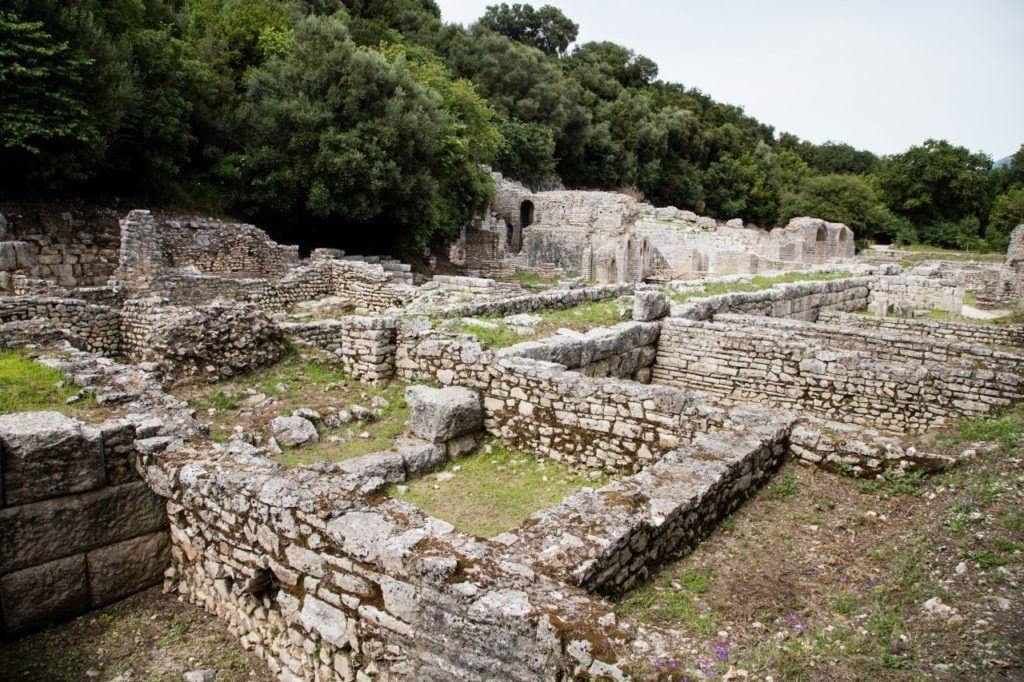 A sprawling site, there are some good walking paths around the Roman ruins of Butrint.