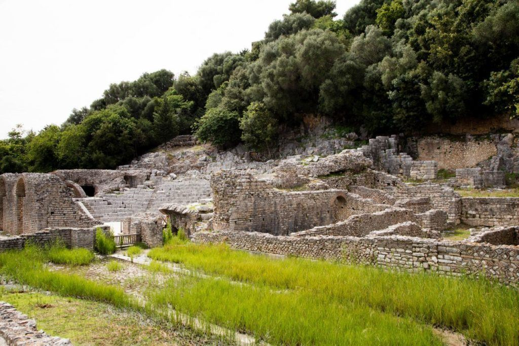 The amphitheater of Butrint.