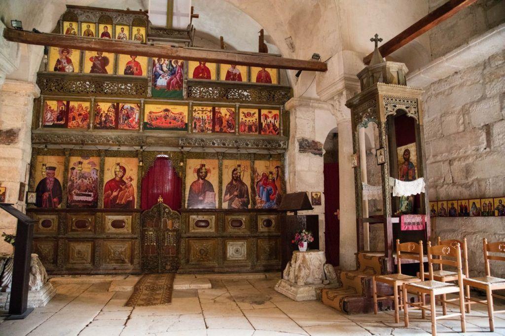 Greek Orthodox church at Apollonia.