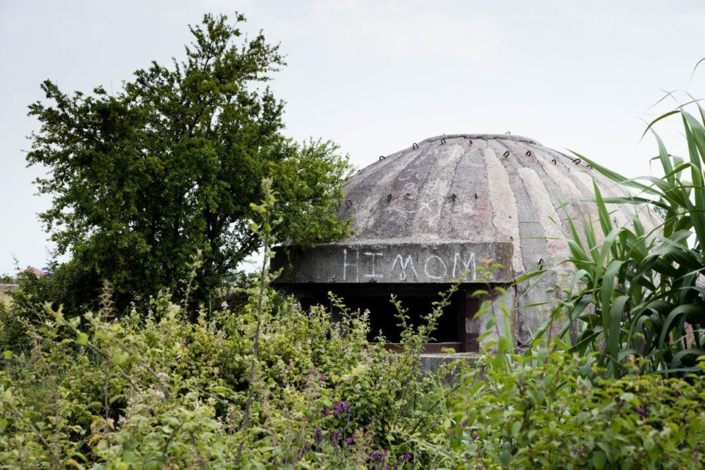 A Soviet era leftover, these bunkers can be found all over Albania.