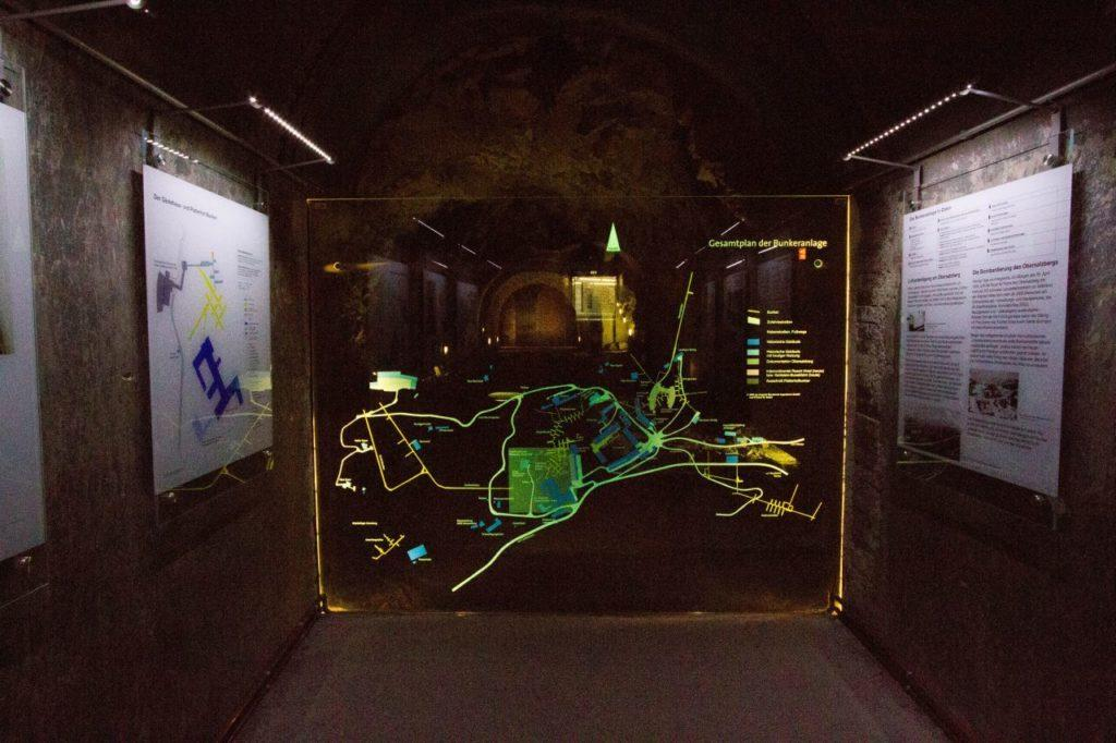 Underground tunnels in Berchtesgaden.