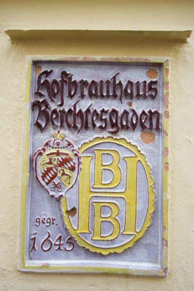 The Hofbrauhaus in Berchtesgaden.