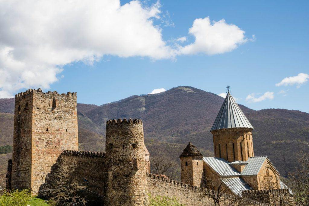 Castle Ananuri in Georgia.