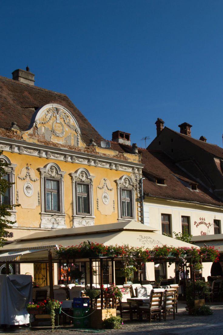 Sauntering Around Sibiu